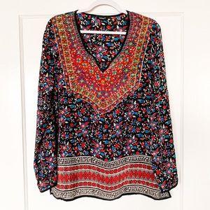 Tolani print blouse